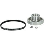 Beko snaarwiel van motor aluminium wasmachine 492204404