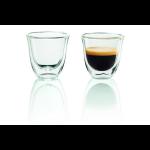 DeLonghi 2 Espresso Glazen