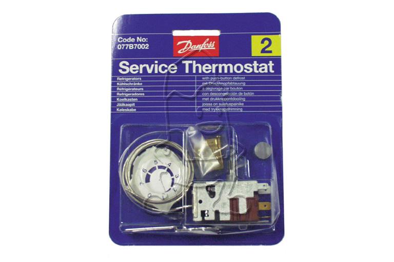 Image of Danfoss thermostaat danfoss nr2 met drukknop