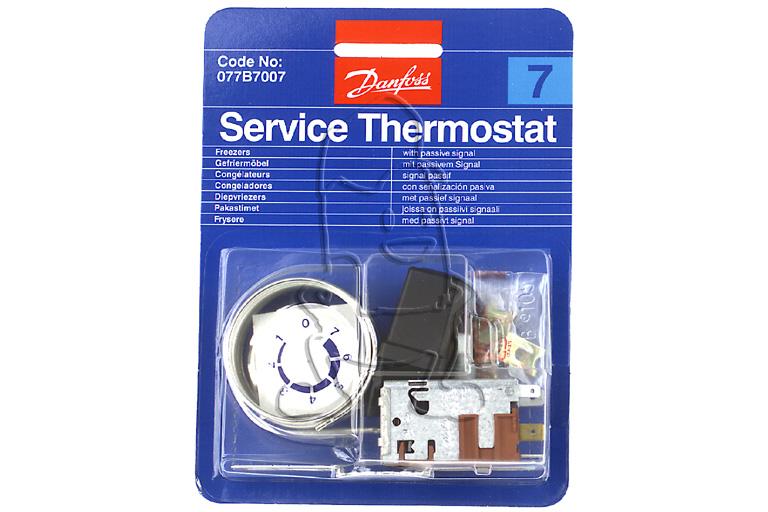 Image of Danfoss Thermostaat Nr7 Passief Signaal koelkast 077B7007