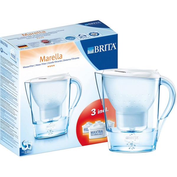 Brita Marella Cool (wit promopack met 3 maxtra filter s)