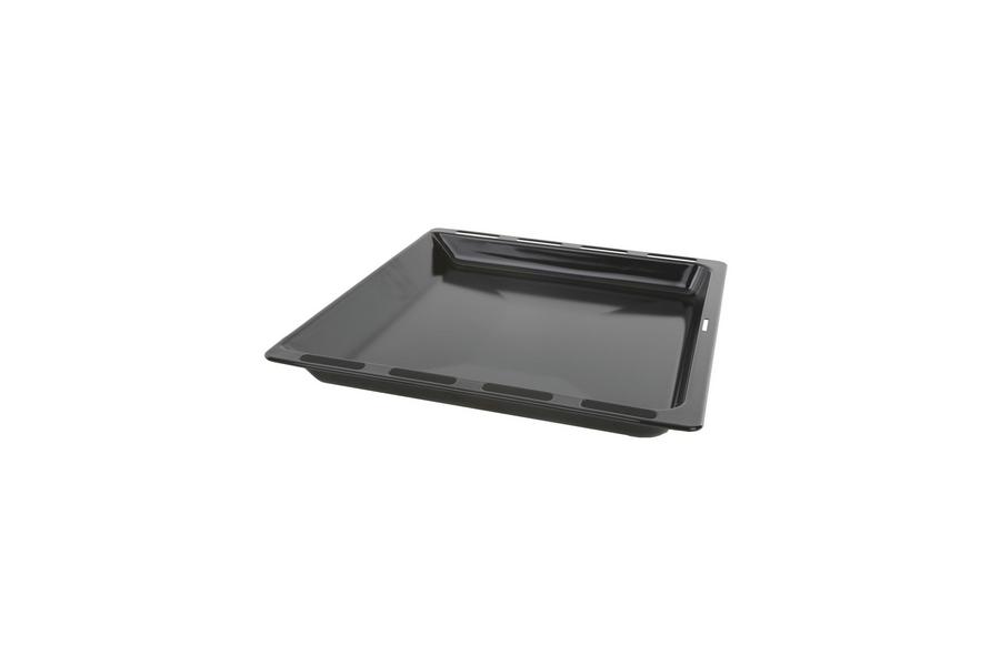 Braadslede geemailleerd, zwart voor oven 00675876