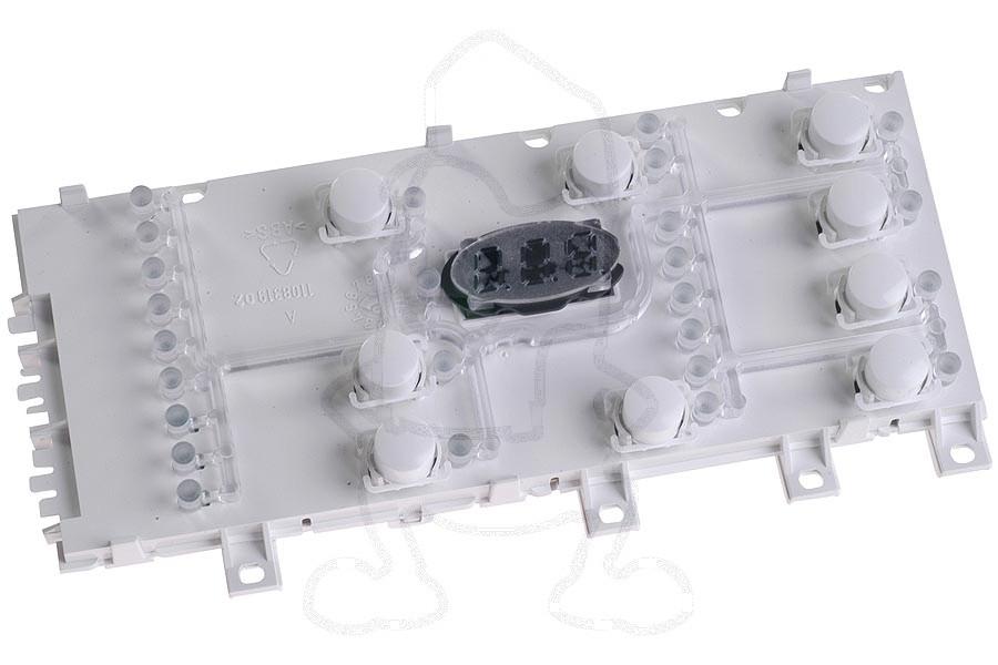 Image of Schakelaar (25 druktoetsen -module-) wasmachine 1100991403