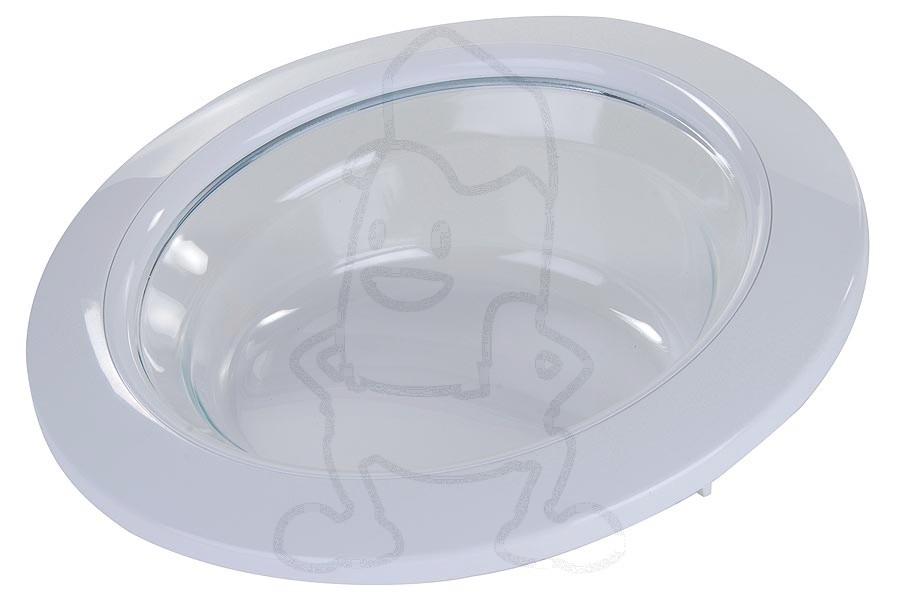Image of Deur (Compleet met glas -wit-) wasmachine 92152826