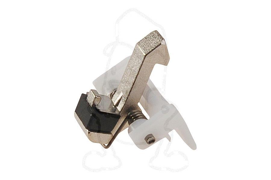 Image of Samsung deurhaak (sluithendel metaal + veer) wasmachine dc9705111a