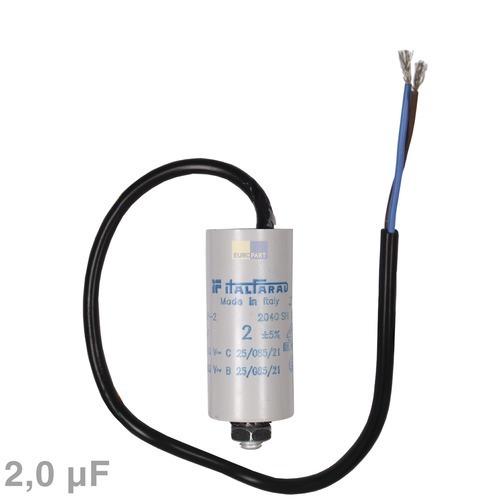 Image of Condensator 2,00µF 450V wasmachine 120002