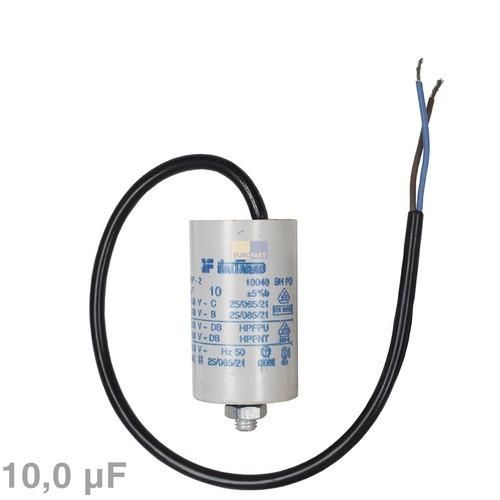 Image of Condensator 10,00µF 450V wasmachine 120010