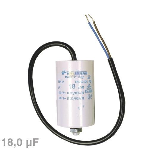 Image of Condensator 18,00µF 450V wasmachine 120018