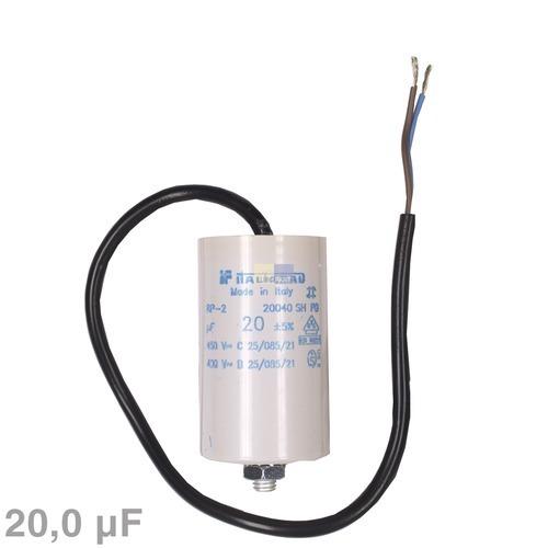 Image of Condensator 20,00µF 450V wasmachine 120020