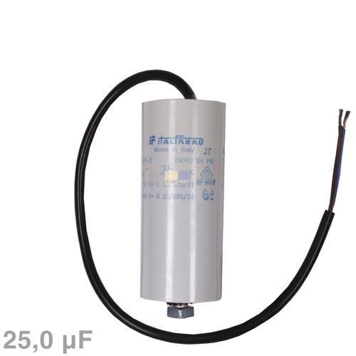 Image of Condensator 25,00µF 450V wasmachine 120025