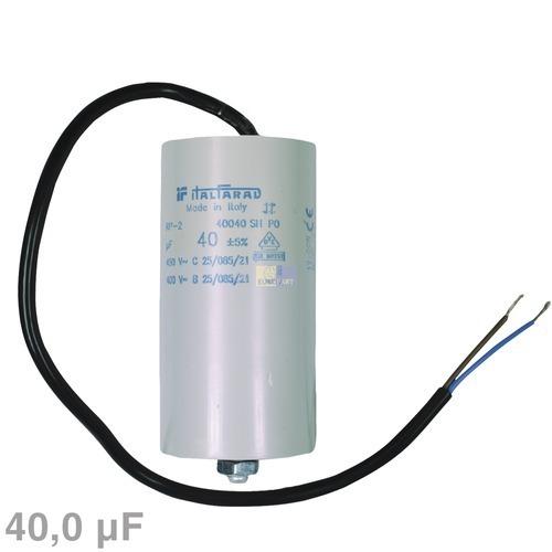 Image of Condensator 40,00µF 450V wasmachine 120040