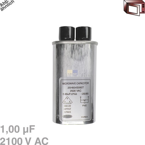 Image of Condensator 1,00µF 2100VAC magnetron 426004