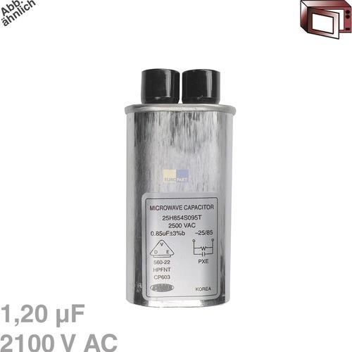 Image of Condensator 1,20µF 2100VAC magnetron 426006