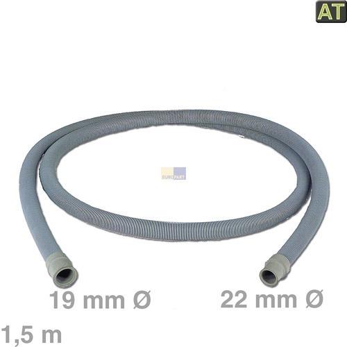Image of Afvoerslang 1,5m 19/22 mm Ø wasmachine 10006267