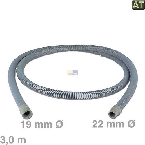 Image of Afvoerslang 3,0m 19/22 mm Ø wasmachine 10006270