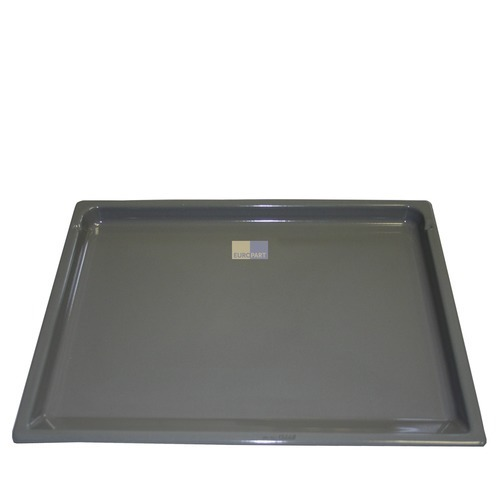 Image of Bakplaat geëmailleerd 23mm hoog, 415 x 350 mm oven 10007467