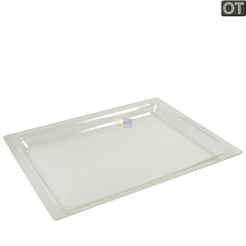 Image of Bakplaat Glas 30mm hoog, 456 x 360 mm oven 10007597