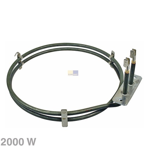 Verwarmingselement hete lucht 2000W 230V voor oven 10007628