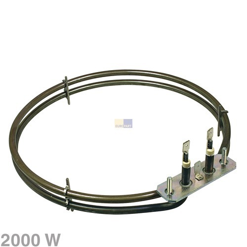 Verwarmingselement hete lucht 2000W 230V oven 10007629