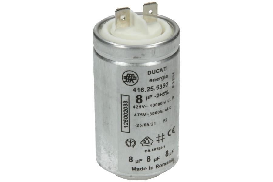 Condensator (8uF) wasdroger 1250020334