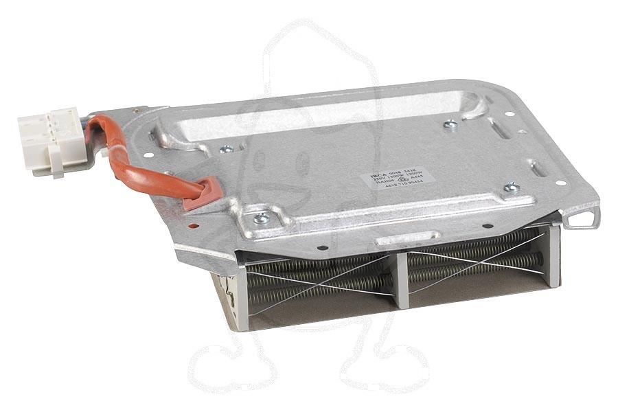 Verwarmingselement (1300W blokmodel 5 contacten) wasdroger 481225928895