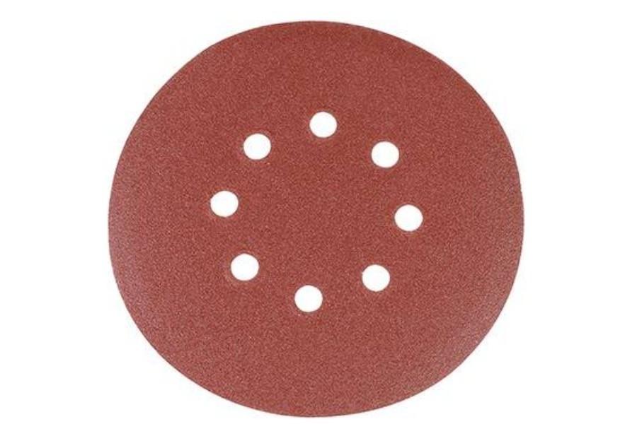 Silverline 150 mm geperforeerde klittenband schuurschijven voor excenterschuurma