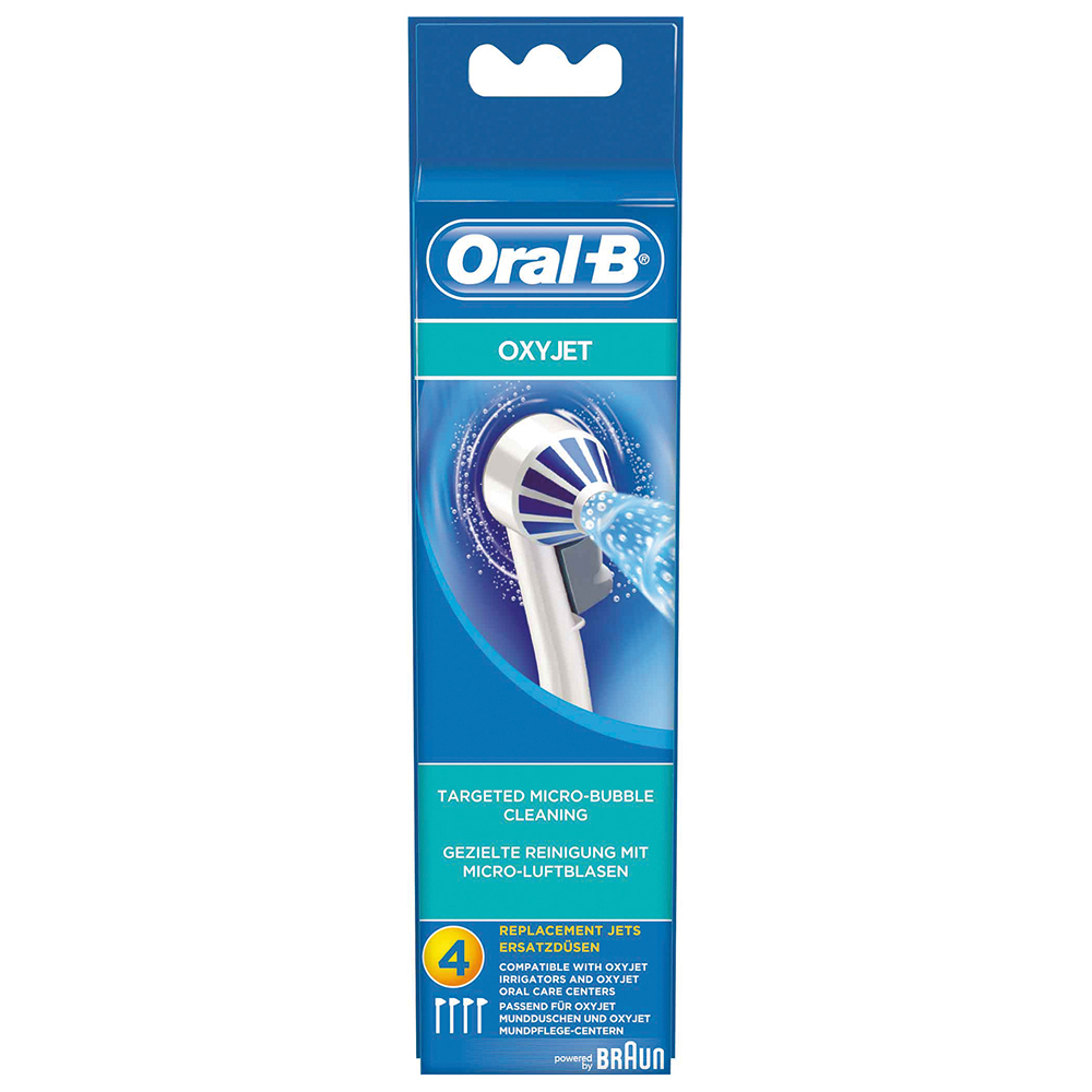 Braun oral-b tandenborstels (spuitstuk oxyjet) 63719733, ed17-4