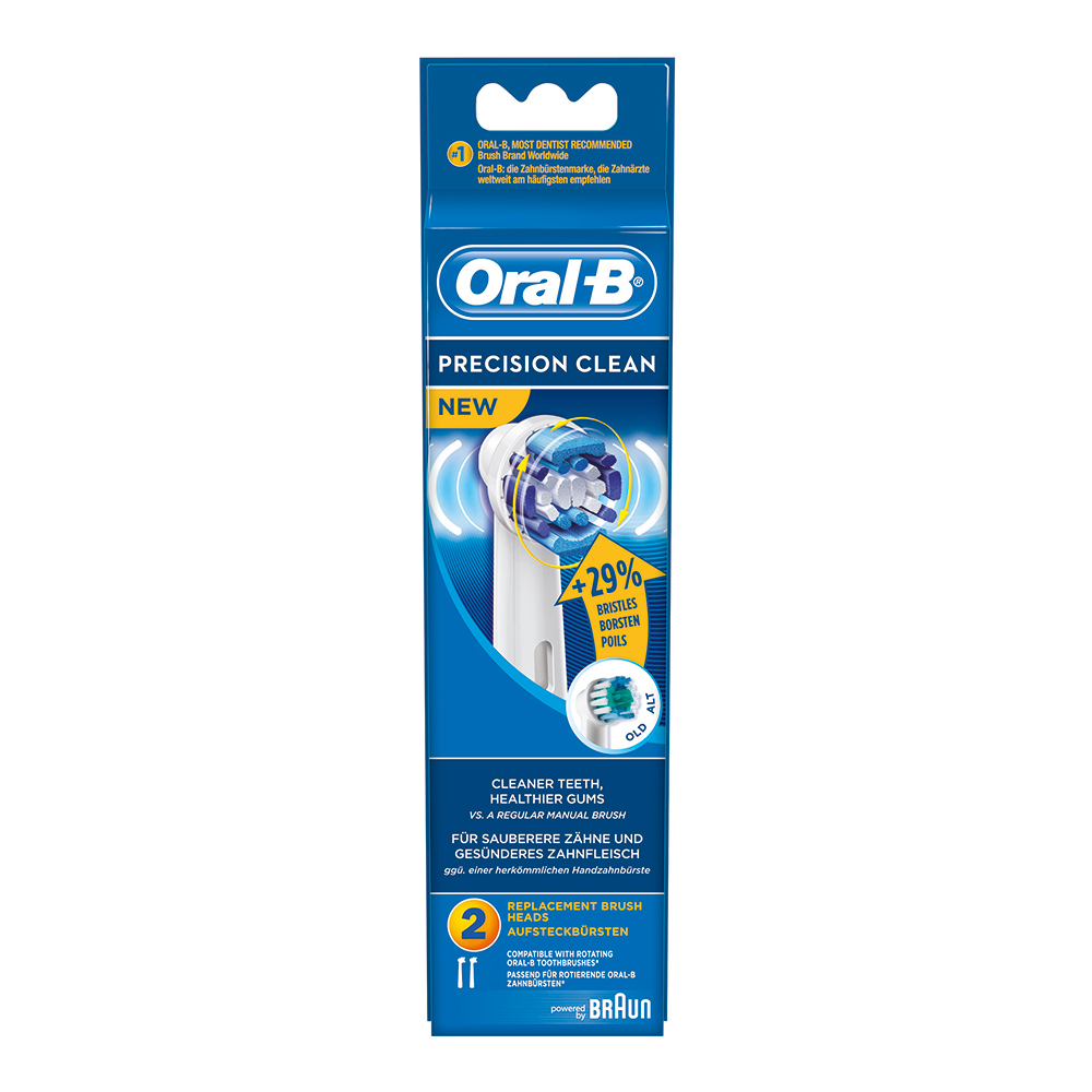Oral-B tandenborstels (Precision Clean A2) 64703700, EB20-2
