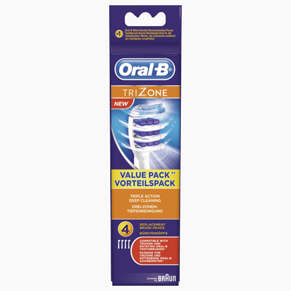 Oral-B (tandenborstels TriZone 3+1) 80217898, EB30-3+1