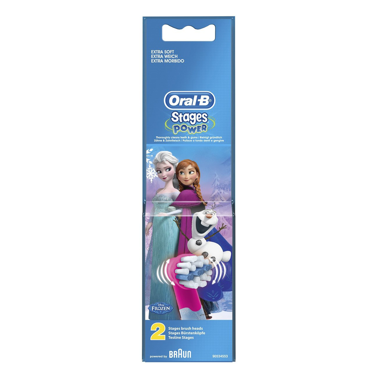 Oral-B tandenborstels (Stages Power Frozen A2) 80279916, EB10-2