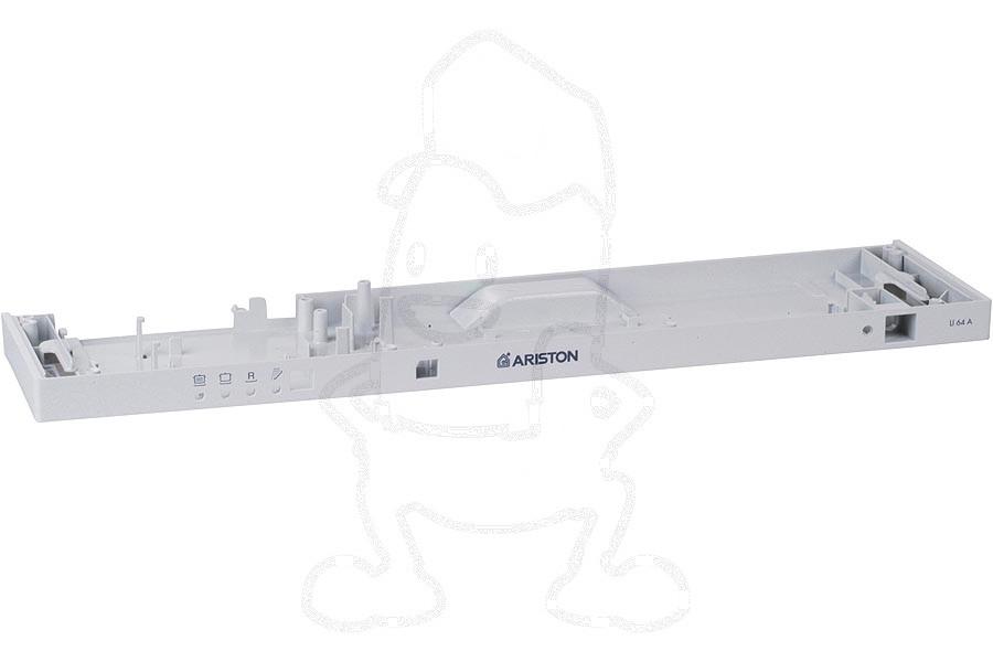 Image of Frontpaneel (Dashboard -grijs-) vaatwasser C00086618, 86618