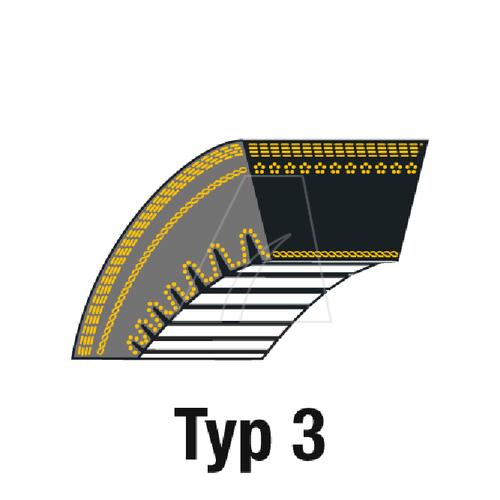 Image of V-Snaar ZX31 10x828 LA voor grasmaaier en sneeuwfrees 4011-A4-0008