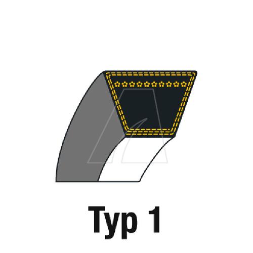 Image of V-Snaar A102 voor grasmaaier en sneeuwfrees 4011-S6-0001