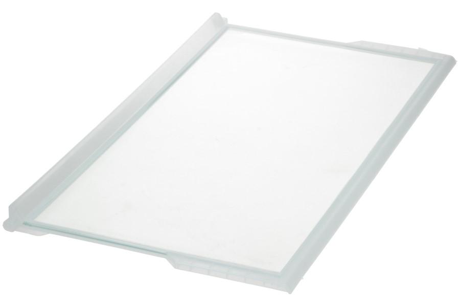 Glasplaat (615x305mm met strip) koelkast 481246078869