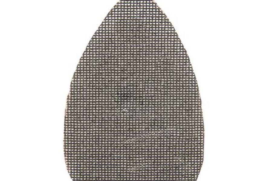 Silverline driehoekige klittenband gaas schuurvellen voor deltaschuurmachine 471