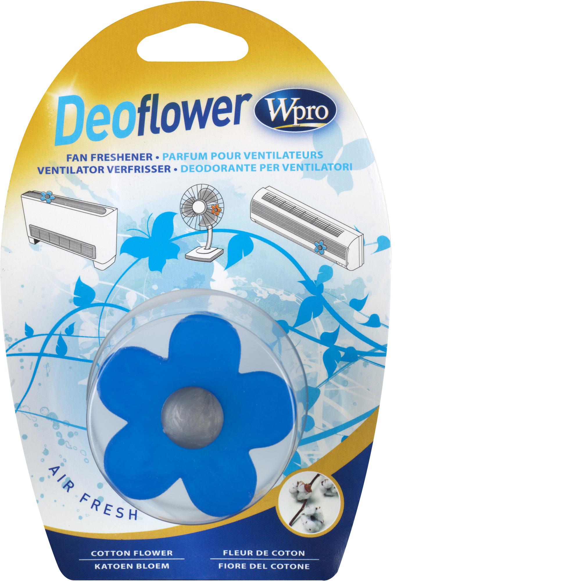 Deoflower - Geurverfrisser Voor Ventilator en Airconditioners - Katoen Airco 480181700915, Dff200