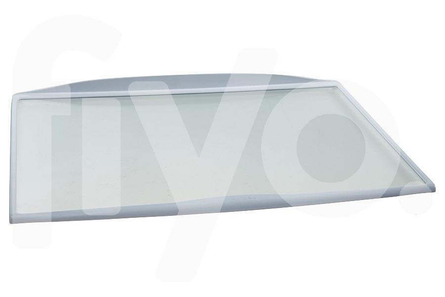 Image of Glasplaat (460x310mm Compleet met randen) koelkast 481245088492