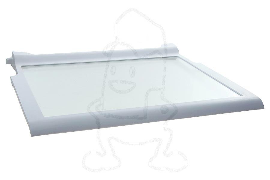 Image of Glasplaat (415x320mm Compleet met randen.) koelkast 481245088245