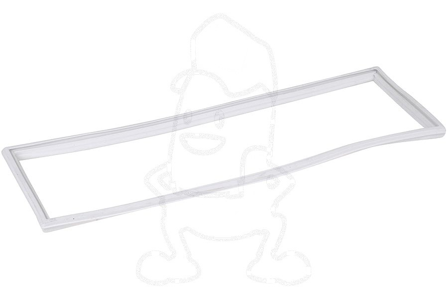 Image of Afdichtingsrubber (Van vriesvakdeur 446x153) koelkast / diepvries 75106665