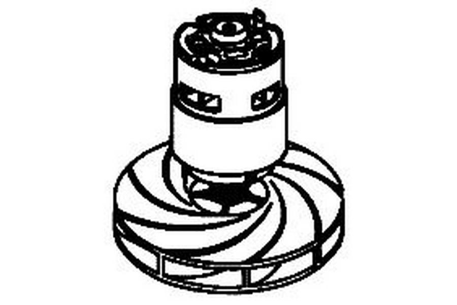 BLACK+DECKER motor voor bladblazer 5104250-00