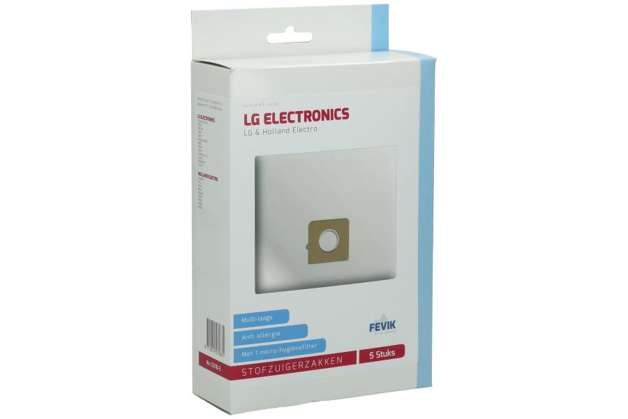 Type Sweefty Stofzuigerzakken voor LG en Holland Electro