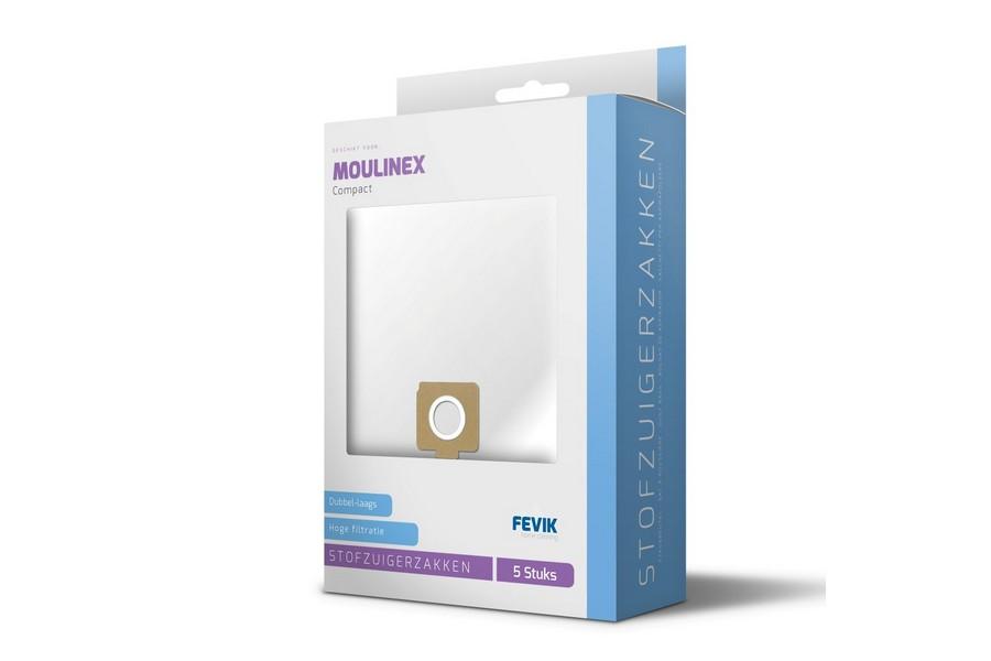 Type Compact Stofzuigerzakken voor Moulinex