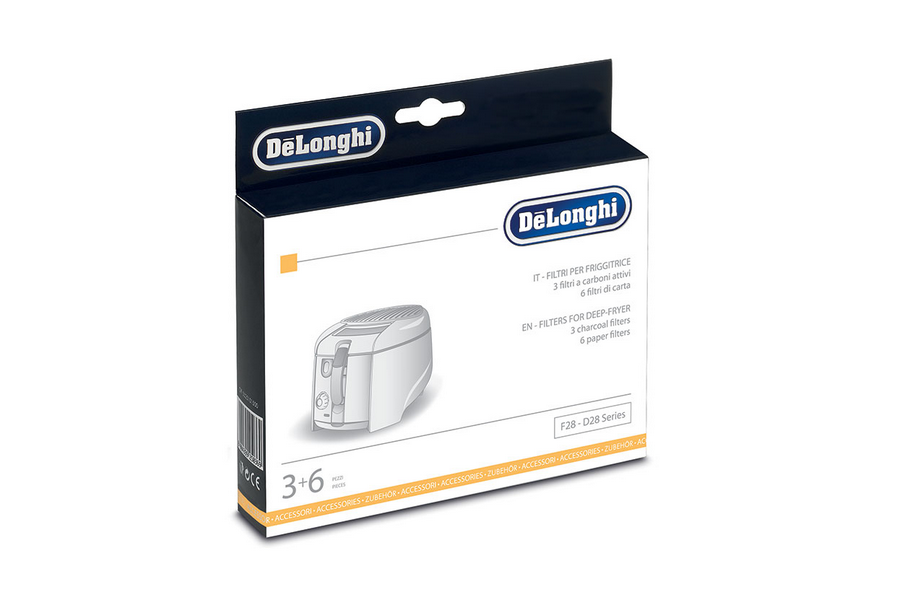 Delonghi F28-9 filters voor friteuse voor friteuse 5512510041