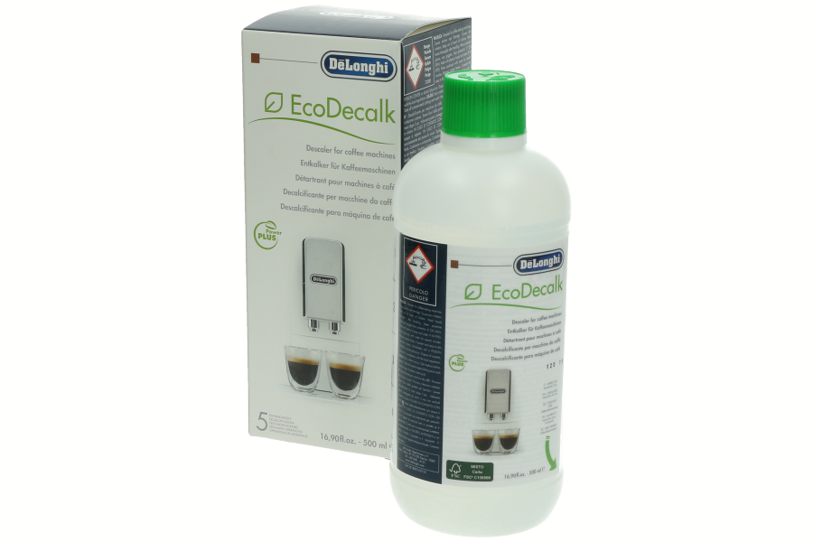 Image of Delonghi EcoDecalk ontkalkingsvloeistof voor koffiemachines 5513296041, 5513291781