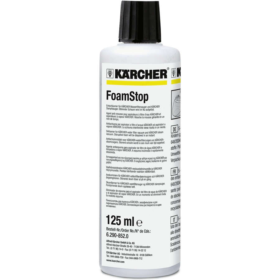 K�rcher foam stop neutral voor sv, se, ds 125 ml tapijtreiniger 6.295-873.0, 62958730