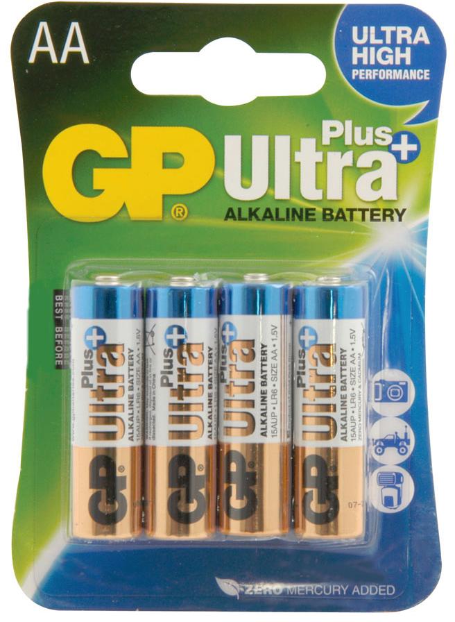 Image of 4x Batterij Ultra+ Alkaline AA