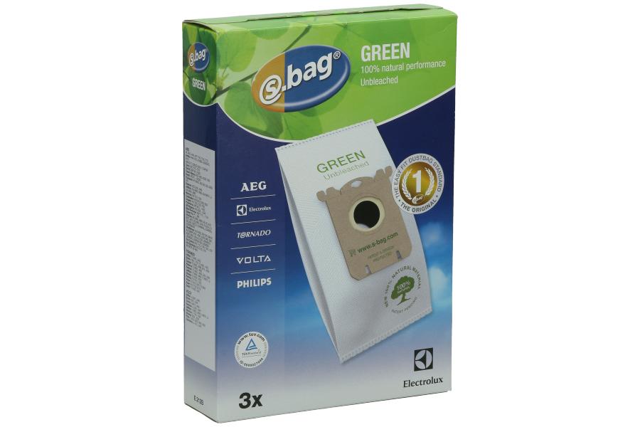 Electrolux S-Bag Green Stofzuigerzakken E212B 9001664557