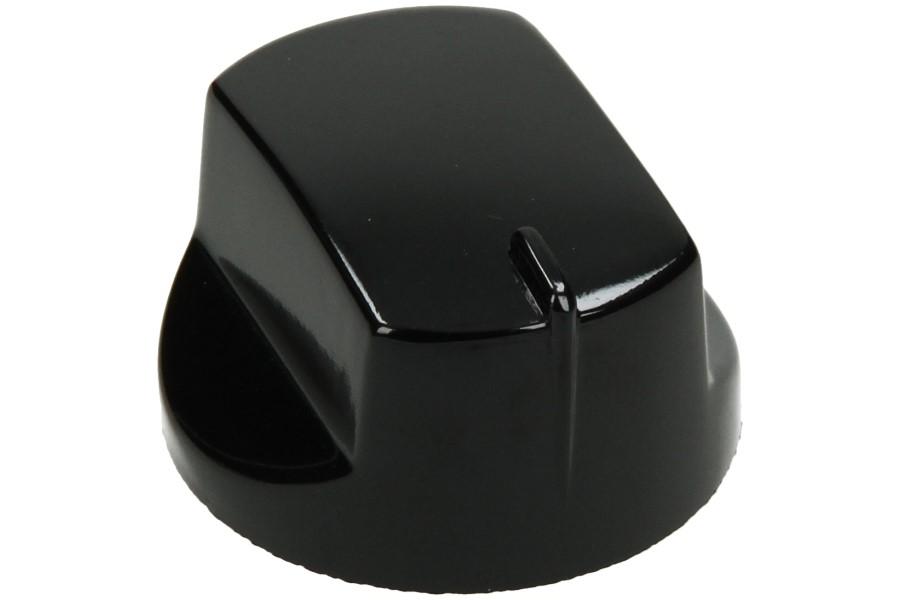 Image of Knop (Gasknop, zwart) C00111560, 111560