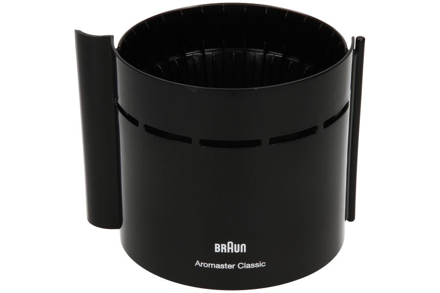 Image of Braun filterbak (zwart) br67000766