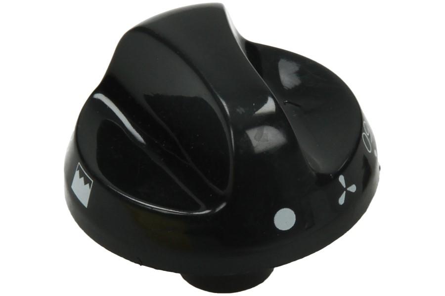 Image of Knop (HL oven zwart) 38600783